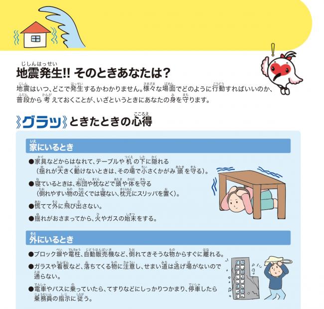 の 備え 地震